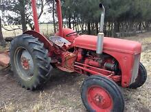 Tractor Massey Ferguson with Grader Blade & Slasher Leopold Geelong City Preview