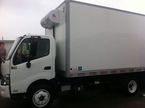 2012 Hino cab chassis seulment