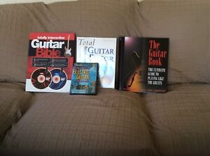 Guitar instruction books and DVD