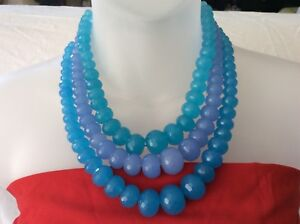 Chunky bead necklaces on clearance sale. Each string  -  $30.