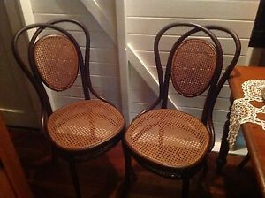 Antique bentwood dining chairs Gympie Gympie Area Preview