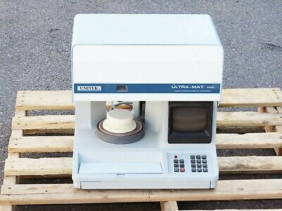 Unitek Ultra-mat Dental Furnace Cdf Catalog 738-600 Model 25-049-03