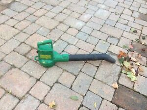 Weed eater electric corded leaf blower