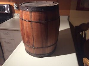 Antique barrel