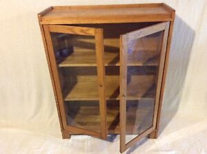 Solid wood bookcase/display case