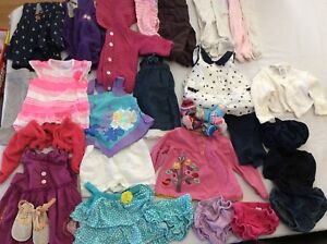 9 month baby girl clothing lot.
