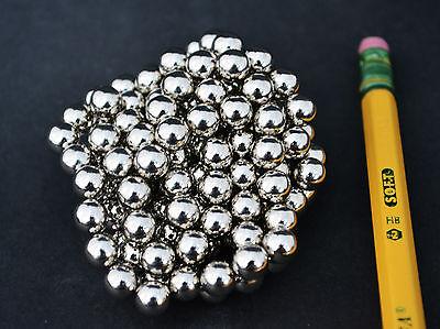 100 Strong Magnets Spheres Balls 6mm 14 Neodymium - Us Seller