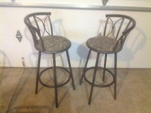 Bar stools $50 for the pair