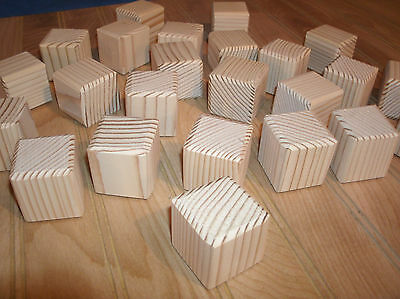 "26 - wooden toy blocks,1 1/2""  square wooden craft blocks, Alphabet blocks"