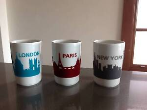 Decorative cups with felt city skyline, please text 0 Coogee Eastern Suburbs Preview