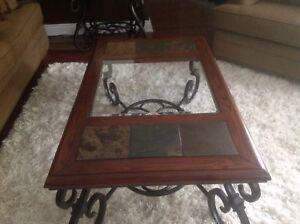 BEAUTIFUL SOLID OAK, COFFEE, END AND HALL/SOFA TABLES