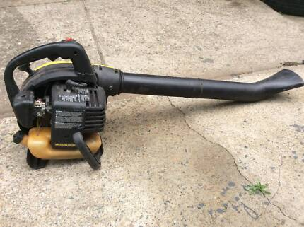 mac petrol garden blower see working see pics or call for inspect