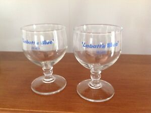 Labatts beer glasses