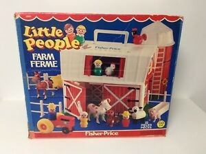 Fisher Price vintage Little People Farm