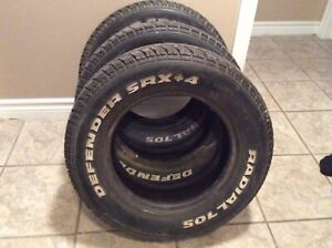 3 Radial Tires