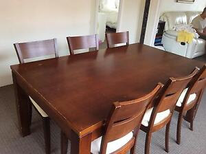 Dinning Table and chairs Cronulla Sutherland Area Preview