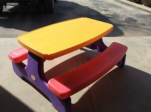 Little tykes Large picnic table