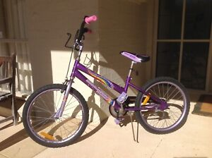 "Girl's 20"" bike."