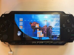 PSP system mint! 10 games & movies, cover, screen protector