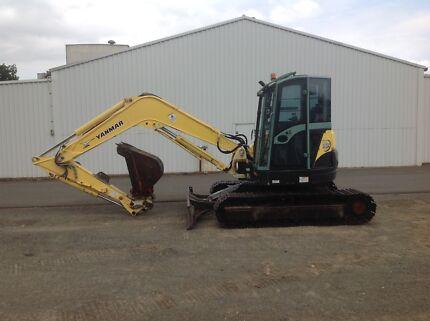 2010 Yanmar VIO75-A (8 tonn) Excavator