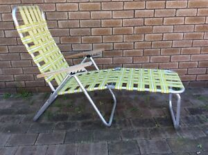 RETRO VINTAGE SUPA FURN BANANA LOUNGE CHAIR