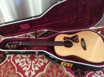 acoustic guitar Gilet G 45 guitar