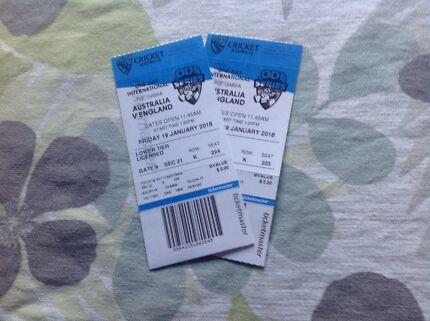 ODI Cricket Tickets
