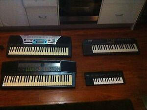 YAMAHA KEYBOARDS X4 AS PER PHOTOS Manly Manly Area Preview