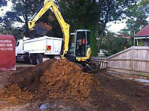 Tipper Hire / Excavators /Bobcats/ Fill Removal Sydney City Inner Sydney Preview