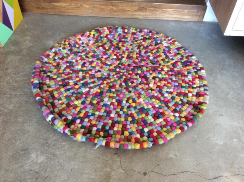 Rug Pom Felt Ball Rugs Carpets Gumtree Australia Boroondara Area Hawthorn East 1195942024