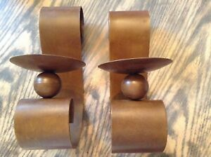 Wall sconce candle holders