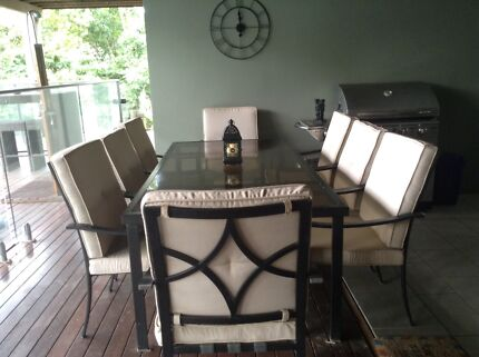Large Outdoor Dining Table And Chairs