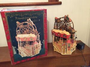 Vintage Enesco Ferris Wheel Music Box