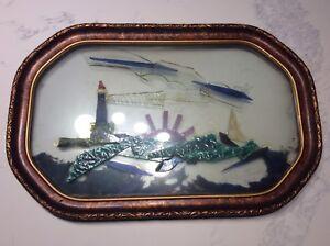 Stain Glass Folk Art Frame