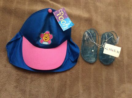 Brand New Kids Hat and Shoes