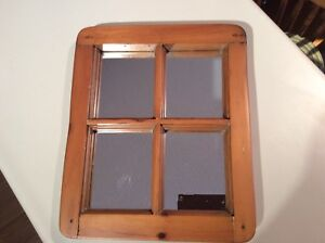 Antique Pine Window