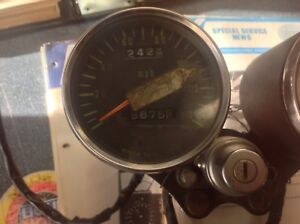 Gauges off 1972 Kawasaki H1 with Ignition