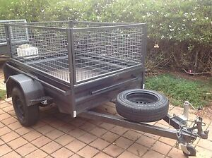 6x4 caged trailer for Hire Gungahlin Gungahlin Area Preview