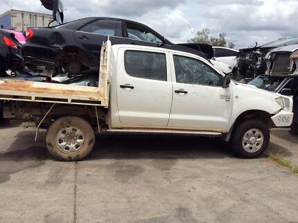 Wrecking Toyota 2010