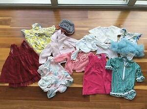 Baby girls size 00 and 1 clothes bundle Mount Gravatt Brisbane South East Preview