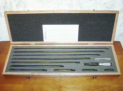 Mitutoyo Tubular Inside Micrometer Set No 139-202 - 4-40 Inches