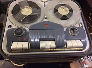 Workng Philips Reel to Reel Tape Recorder/Player EL 3542A