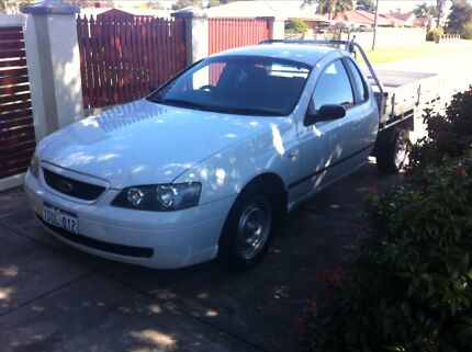 2005 Ford Falcon Super cab XL BA MKII V6 4 SP AUTO Gosnells Gosnells Area Preview