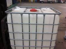 Water tanks - portable Food Grade IBC  1000 litre Middle Ridge Toowoomba City Preview
