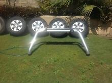 Toyota Hilux Sr5 rims, rollbar and spare Singleton Rockingham Area Preview