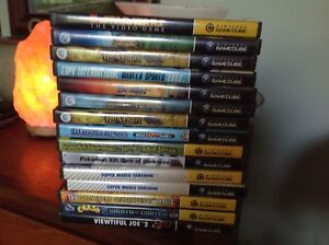 GameCube video games, WII and PSP games