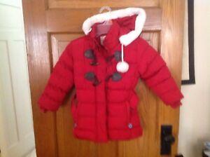Girls Puffy Coat