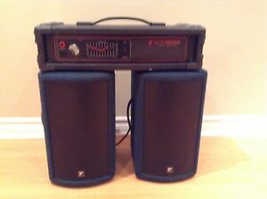 Yorkville speakers and amp