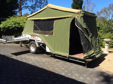 Campomatic Ranger GL Camper Trailer - used very infrequently