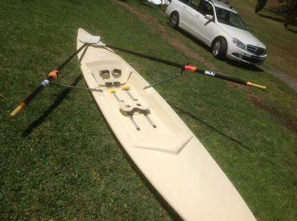 Rowing Scull - Single. Great exercise & fun. Faster than a kayak
